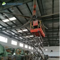 Industrial Large Ceiling Fan with High Volume and Low Speed of Ventilation Wind