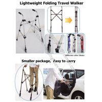 RE527L Light weight Folding travel walker