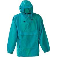 190T polyester with PA/PU/PVC coating raincoat