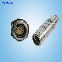 Factory 14 pin circular quick spilce waterproof connector IP 68