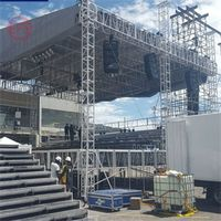 Aluminium truss system stage outdoor truss for sale thumbnail image