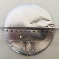 Round Hookah Aluminum Foil without Holes