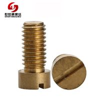 brass slotted fillister head machine screw thumbnail image