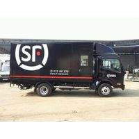 Truck body with PP honeycomb panel