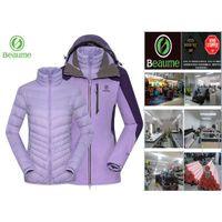 Ladies' 3 in 1 Windproof /Waterproof Outdoor Jacket