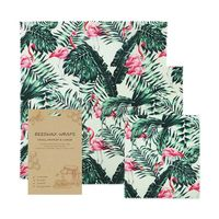 Beeswax food wrap assorted 3 pack