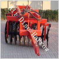 1BZ trailed heavy duty disc harrow for 80HP tractor