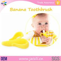 Baby Banana Bendable Training Toothbrush With Packaging