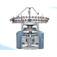 Double Jacquard circular warp knitting machine