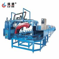 PU insloe pouring machine with automatic production line