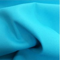 Dyed Jacquard Polyester Uniforms Fabric Pongee Bonding With Knitting Cloth