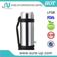 1.0L/1.2L/1.5L vacuum stainless steel custom flasks (FSUL)