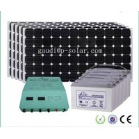 3600W Solar System For Home Use