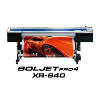 Roland SOLJET PRO 4 XR-640 High Speed Wide Format Printer/Cutter
