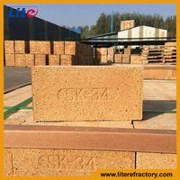 SK30 SK32 SK34 33%-45% Al2O3 Standard fire clay bricks for furance kiln