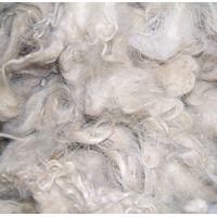 Scoured goat hair for carpet yarn thumbnail image