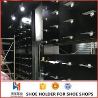 huohua factory wholesale functional shoe store display racks for sale