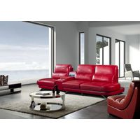 Commercial Sectional Leather Sofa