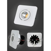 Aluminum Alloy Die Casting COB 3W LED Ceiling Light Fixture