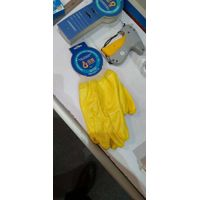 Knit Wrist,Cotton Interlock liner with nitrile fully coating glove