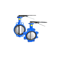 DN50-DN1200 wafer /lug butterfly valve thumbnail image