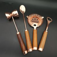 Stainless Steel Bar Tools 4pcs Set
