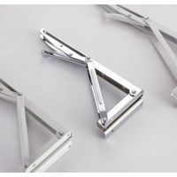 Metal Bily Folding Triangle Bracket with Powder Coating for Construction