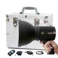 3G Remote Control Portable Photography Lighting With Battery, iPHOTON LC402 400W Photography Strobe  thumbnail image