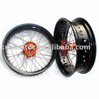"cnc KTM  super wheels 17"" Motorcycle wheel hub thumbnail image"
