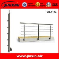 Hot Selling Stainless Steel Handrail Balustrade/Staircase Railing YK-9104