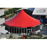 Round Tent with Glass Wall for Catering, Circus Tent with Hard Wall for Sale