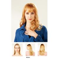 EYESHA Color fusion fashion wig 806B (Gold mix - setting wave style)