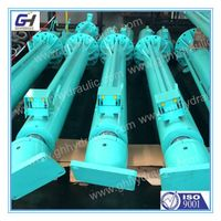 long stroke double acting hydraulic cylinder
