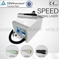 Professional Q-switch ND:YAG Laser Tatoo Removal Machine