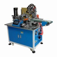L Shape PCB/ Nickel Sheet & Cells Spot Welding Machines for Mobile Phone Batteries Automatic Making