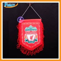 Hot sell digital printed flags with sports pattern
