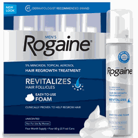 ROGAINE MINOXIDIL 5% FOAM (Same as Kirkland and Regaine) - 4 Month Supply