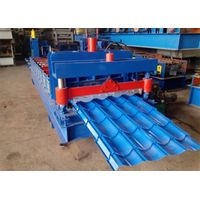 828/1035 Galvanized Tile Roofing Sheet Roll Forming Machine thumbnail image