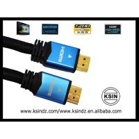 Hdmi to hdmi cable ALU shell with 24k gold plated connectors  1.4version 1080p for all hdmi devices.