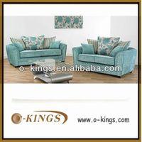 fabric wooden sofa
