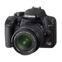 Canon Rebel XS 10.1MP Digital SLR Camera with EF-S 18-55mm f/3.5-5.6 IS Lens (Black) thumbnail image