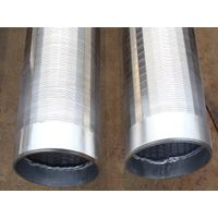 wire mesh screen water filter/wedge wire screen