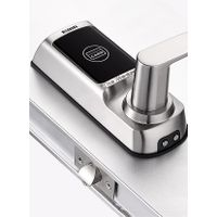 Smart card door lock system with emergency key for hotel