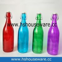 color water glass bottle thumbnail image