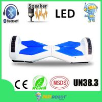 8 inch two wheel hoverboard smart balance wheel with bluetooth