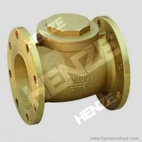 Brass Flanged Lift Check Valve