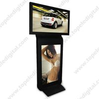 42inch dual-screen floor-standing indoor LCD advertising player