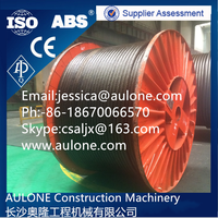 Non rotating crane wire rope