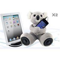 New Cute Animal Shapes Plush Toy Speaker