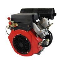 HD2V84 11KW V-twin air-cooled diesel engine for lawn mower, water pump etc